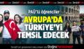 PAÜ'lü Öğrenciler Avrupa'da Türkiye'yi Temsil Edecek