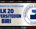 PAÜSEM, Türkiye'de O Yetkiyi Alan İlk 20 Üniversiden Biri
