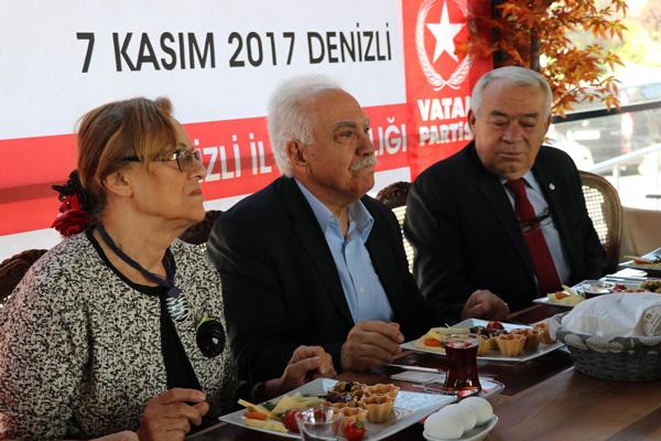 perincek denizlide foto 1 - Perinçek'ten, Türk yargısına övgü