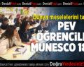 PEV Öğrencileri MUNESCO18'de