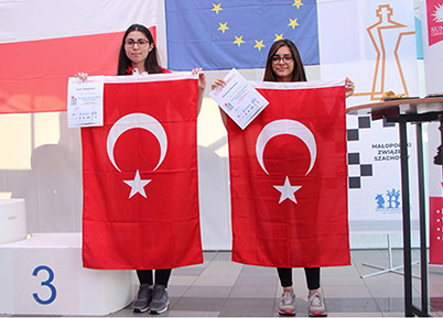 PEV'li Öğrencilerin Avrupa Başarısı