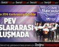Euroasia Mun 2016 Konferansına katıldılar