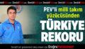 PEV'li Milli Takım Yüzücüsünden Türkiye Rekoru