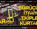 Pınarkent'te Kaza: 1 Yaralı