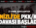 Denizli'de PKK/KCK davası başladı