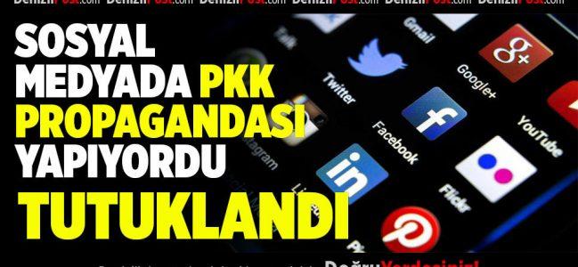 PKK sempatizanı tutuklandı