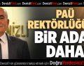 Prof. Dr. Çetişli PAÜ Rektörlüğü'ne adaylığını açıkladı