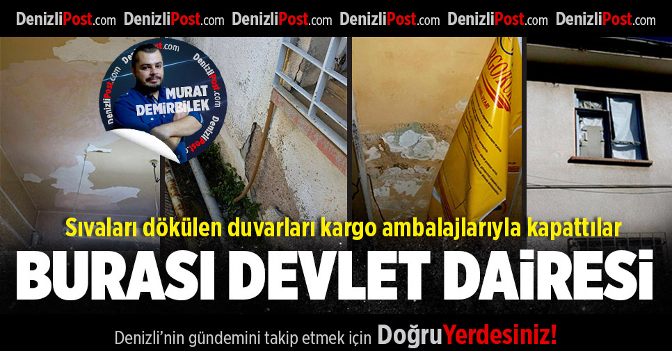 PTT Binası Harap Halde