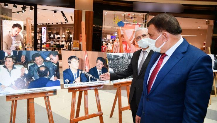 Malatya'da Özal ve Fendoğlu sergisi ilgi gördü
