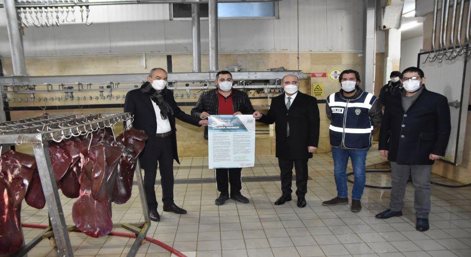 Kayseri'de pastırma ve sucuk imalatçılarına tedbirli denetim
