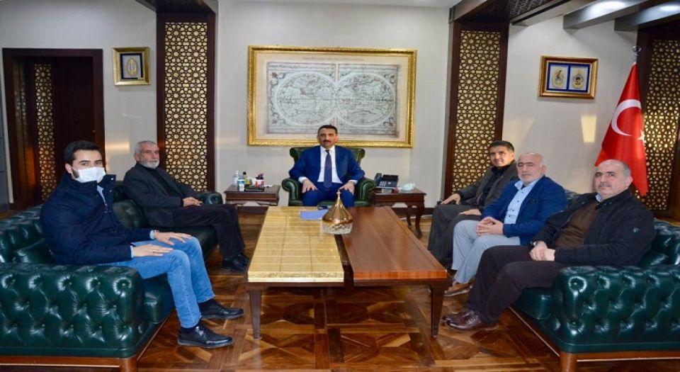 Siirt'te STK temsilcilerini kabul etti