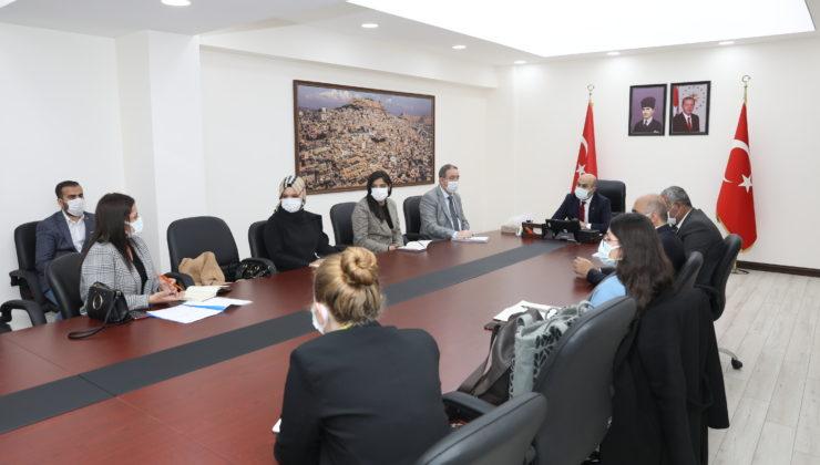 Mardin'de Vali Demirtaş Kadın Kooperatif temsilcileri ile buluştu
