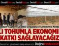 """Rektör Bağ, """"Yerli tohumla milli ekonomimize katkı sağlamayı hedefliyoruz"""""""