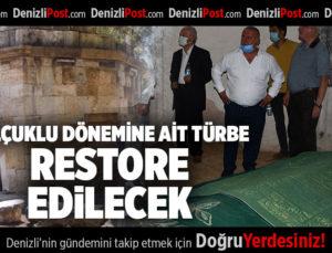 SELÇUKLU DÖNEMİNE AİT TÜRBE RESTORE EDİLECEK