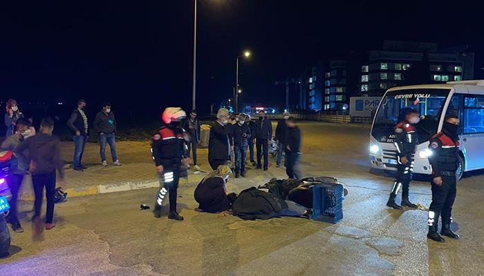 Adıyaman'da motosiklet ile minibüs çarpıştı: 2 yaralı