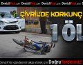 Çivril'de Kaza: 1 Ölü