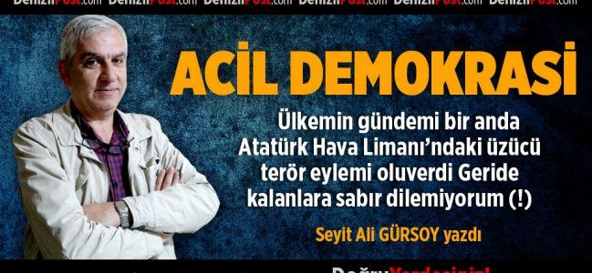 ACİL DEMOKRASİ
