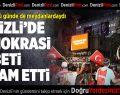 Denizli'de demokrasi nöbeti devam ediyor