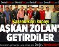 İşitme engelli basketbolculardan Başkan Zolan'a ziyaret