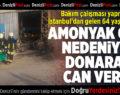 İstanbul'dan Gelen İşçi Çivril'de Donarak Can Verdi