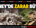 Güney İlçesinde Sel Felaketinin Zararı Büyük