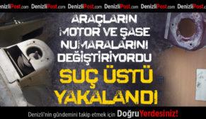 Araçların Motor ve Şase Numaralarını Değiştiren Tamirci Suç Üstü Yakalandı