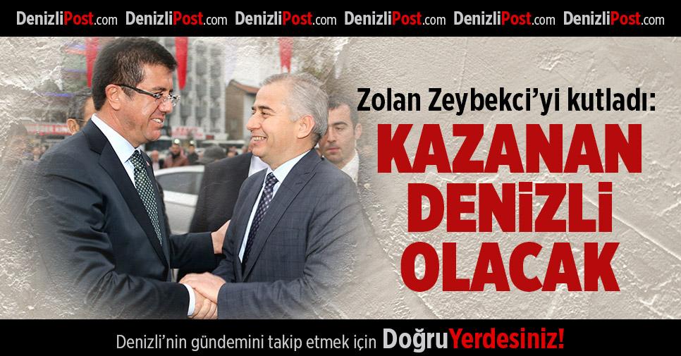 Başkan Zolan'dan kutlama mesajı