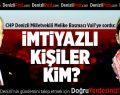 CHP'li Melike Basmacı'dan Vali'ye Soru