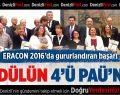 ERACON 2016'da Gururlandıran Başarı