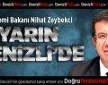 Bakan Zeybekci'den İlk Ziyaret Denizli'ye