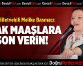 CHP'li Basmacı'dan Kıyak Maaşlara Tepki