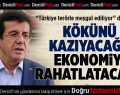 Zeybekci: Ekonomi rahatlayacak