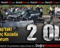 Kocabaş'ta Korkunç Kaza: 2 Ölü