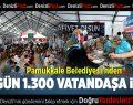 Pamukkale'den Her Gün 1300 Kişiye İftar
