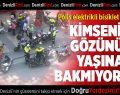 Polis elektrikli bisiklet avında