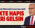 CHP Denizli Milletvekili Arslan'dan Teklif