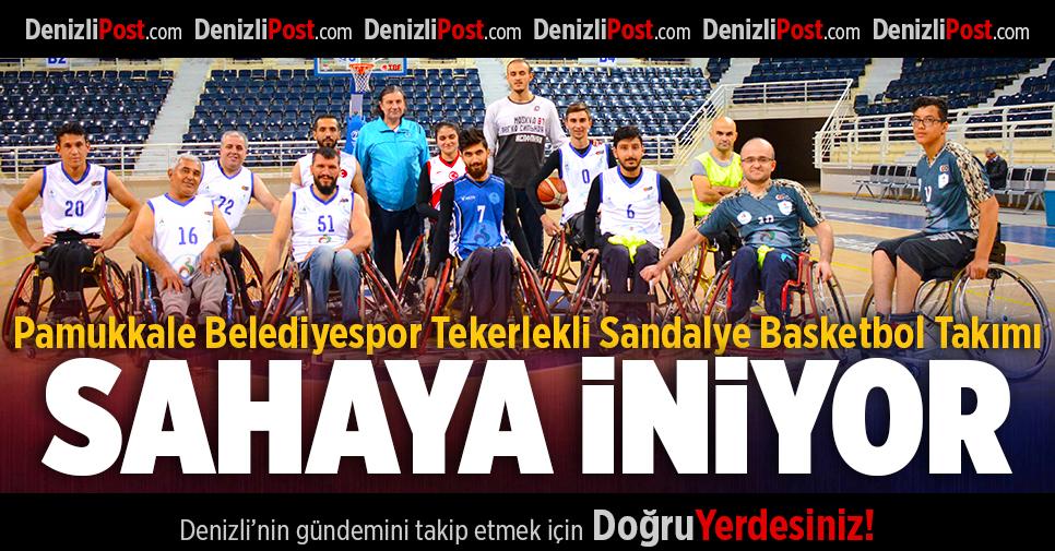 Tekerlekli Sandalye Basketbol Takımı Sahaya İniyor!