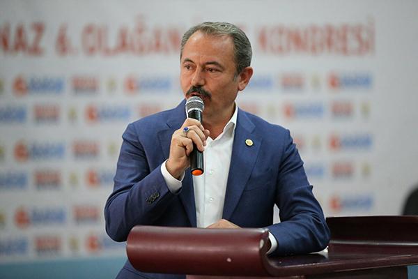 sahin tin 1 2 - AK Partili Şahin Tin gündemi değerlendirdi