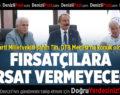 AK Parti Denizli Milletvekili Şahin Tin, DTB Meclisi'ne konuk oldu