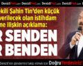 Milletvekili Şahin Tin'den İstihdam Desteğine İlişkin Açıklama