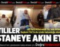 AK Partili Milletvekili Şahin Tin'in de içinde bulunduğu otomobil kaza yaptı:8 yaralı