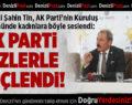 Milletvekili Şahin Tin, AK Parti'nin Kuruluş yıldönümünde kadınlara seslendi