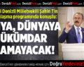 AK Parti Denizli Milletvekili Şahin Tin bayramlaşma programında konuştu