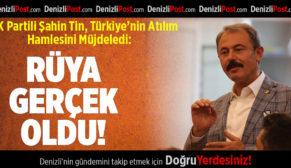 AK Partili Şahin Tin, Türkiye'nin Atılım Hamlesini Müjdeledi