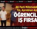 AK Parti Milletvekili Şahin Tin, Ayrıntıları Açıkladı