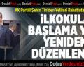 AK Partili Şahin Tin'den Velileri Rahatlatan Açıklama