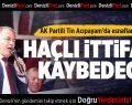 AK Partili Tin: Haçlı İttifakı Kaybedecek