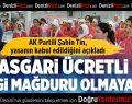 AK Partili Şahin Tin, yasanın kabul edildiğini açıkladı