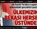AK Partili Tin: Ülkemizin Bekası Herşeyin Üstünde