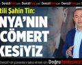 AK Partili Şahin Tin: Dünyanın En Cömert Ülkesiyiz